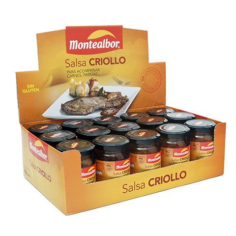 Expositora salsa criollo