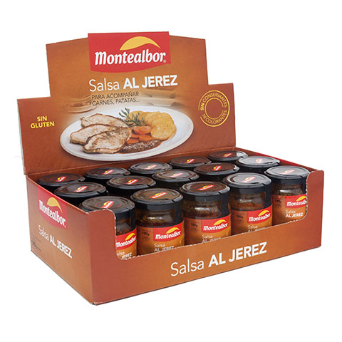 Expositora salsa al jerez