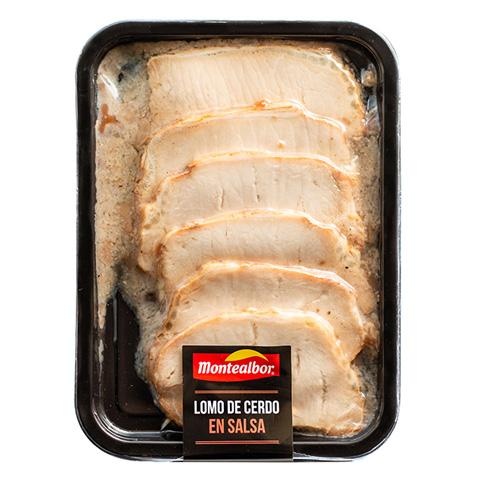Lomo de cerdo en salsa 250g