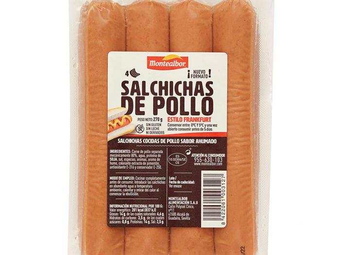 Salchichas de pollo 270 g